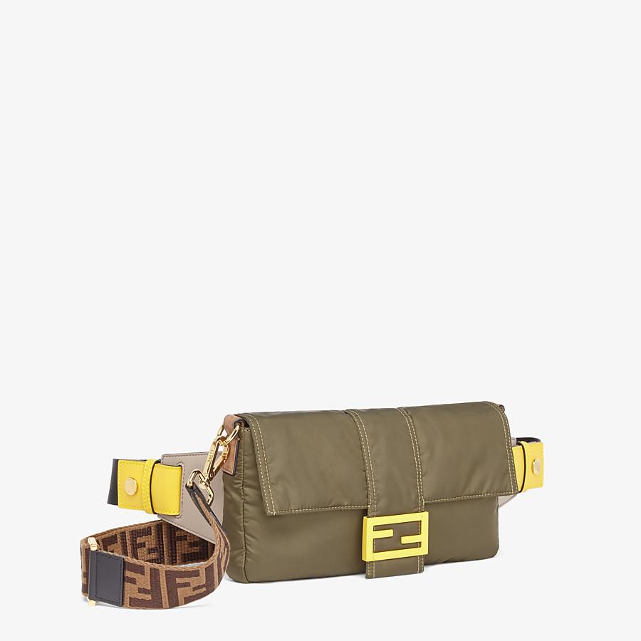 FENDI BAGUETTE - Green nylon bag - view 2 detail