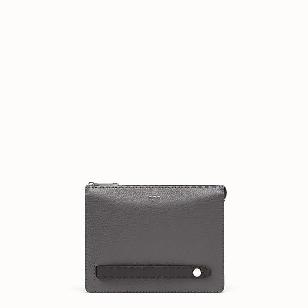 FENDI CLUTCH - Multicolour leather pochette - view 1 small thumbnail