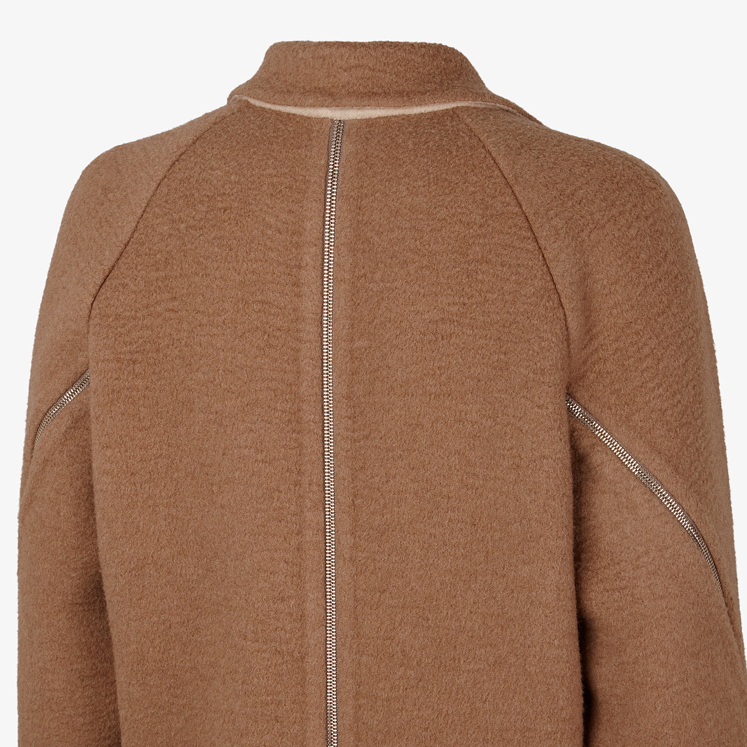 FENDI COAT - Beige camel coat - view 3 detail