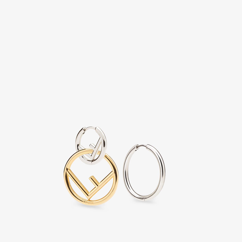 FENDI F IS FENDI EARRINGS - Silver-colored earring - view 4 detail