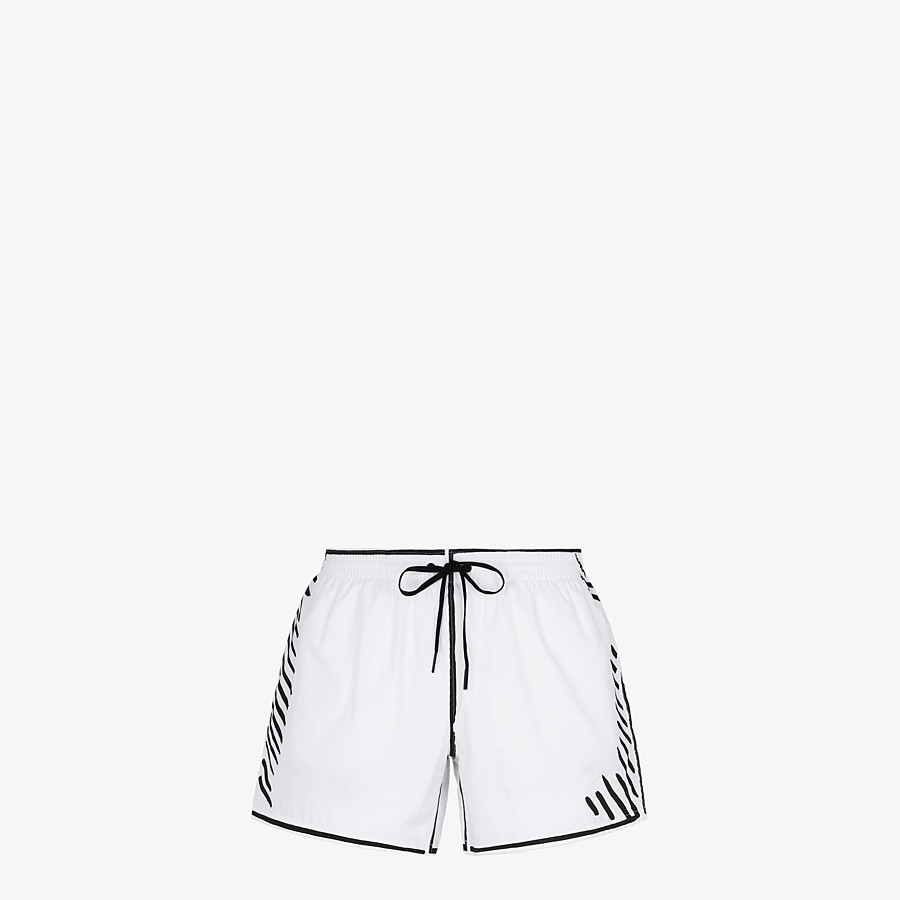 FENDI SWIM SHORTS - Fendi Roma Joshua Vides tech fabric shorts - view 1 detail