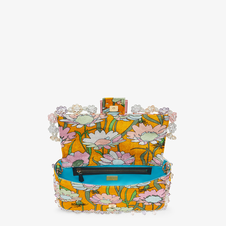 FENDI BAGUETTE - Bag in multicolor chenille - view 5 detail