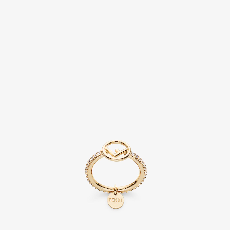 FENDI F IS FENDI RING - Gold-colour ring - view 1 detail