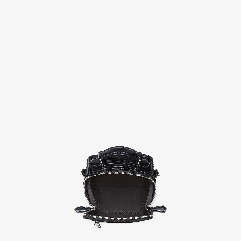 FENDI TRAVEL MINI BAG - Black leather bag - view 4 detail