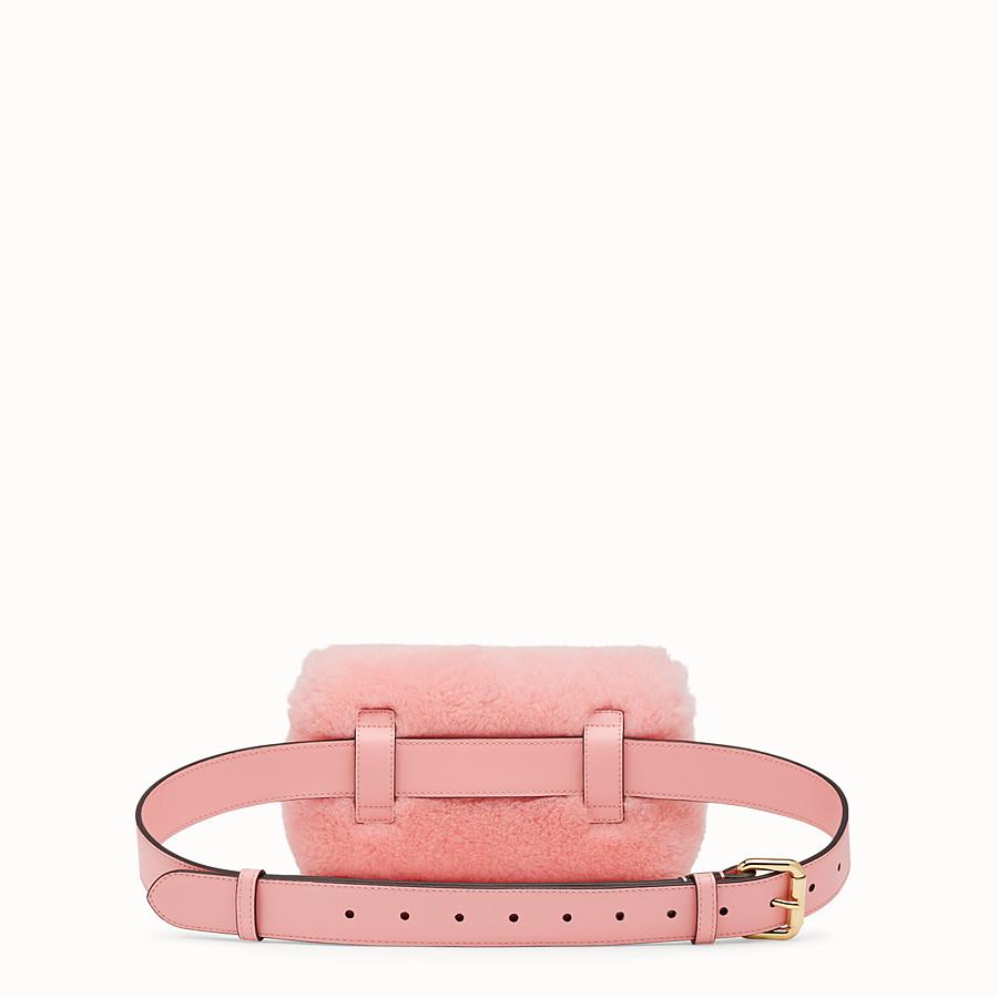 FENDI 벨트 백 - 핑크 컬러의 양가죽 벨트 백 - view 3 detail
