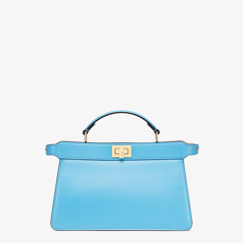 FENDI PEEKABOO ISEEU EAST-WEST - Blue leather bag - view 1 detail