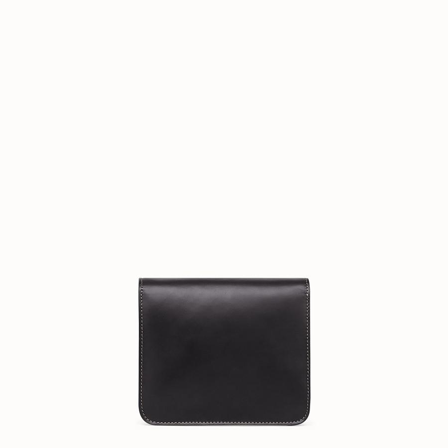 FENDI KARLIGRAPHY - Black leather bag - view 4 detail