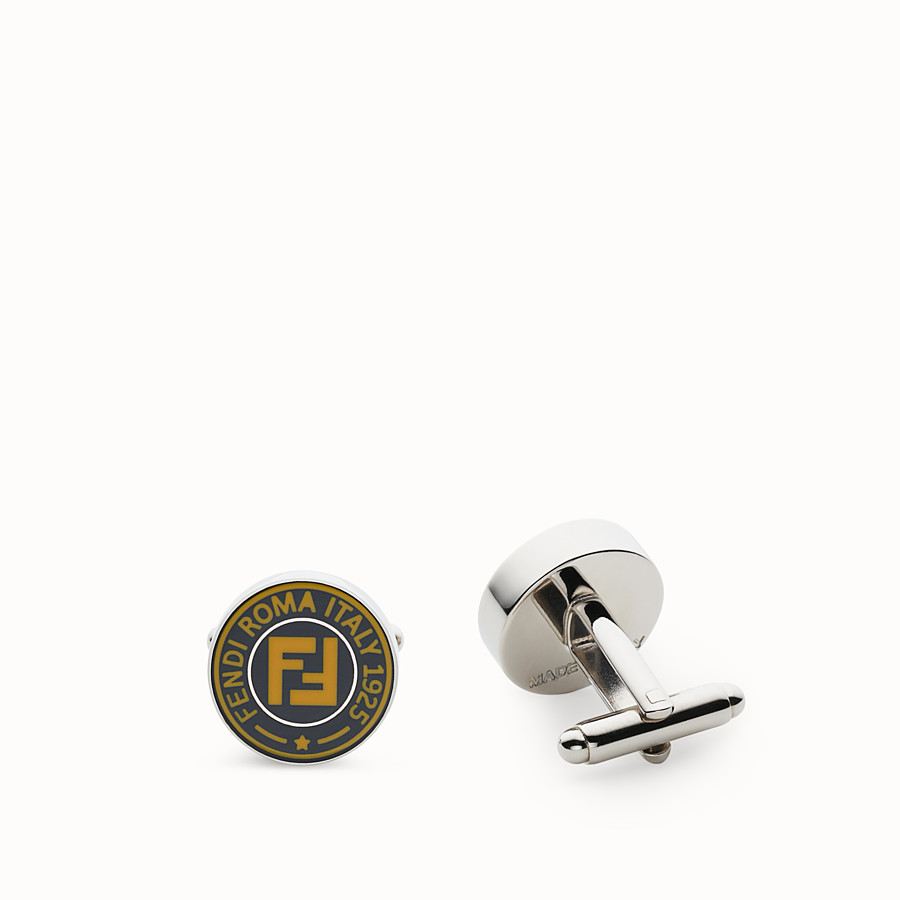 FENDI CUFFLINKS - Blue cufflinks - view 1 detail
