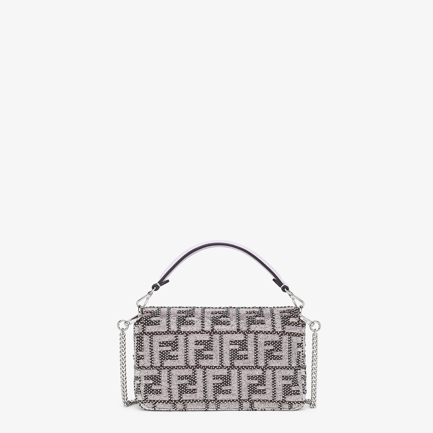 FENDI BAGUETTE - FF embroidery bag - view 3 detail