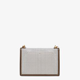 FENDI KAN U - White leather bag - view 4 thumbnail