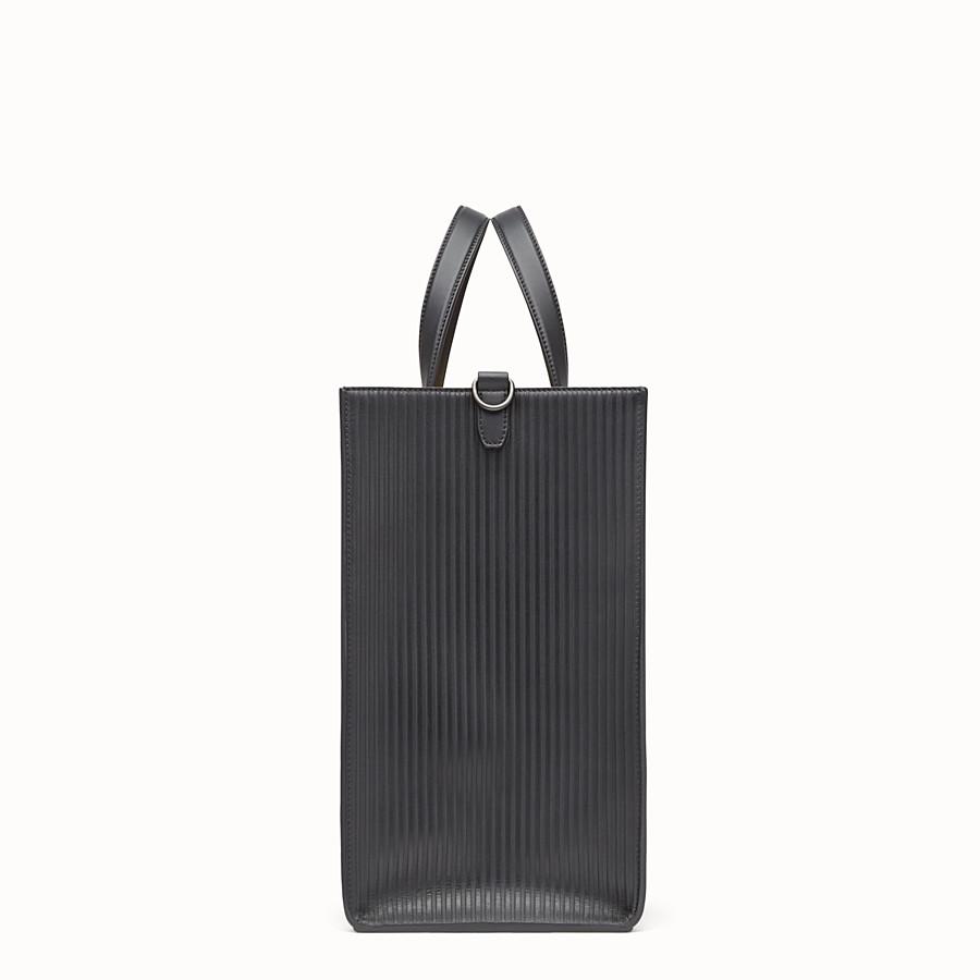 FENDI 토트백 - 블랙 컬러의 가죽 토트백 - view 2 detail