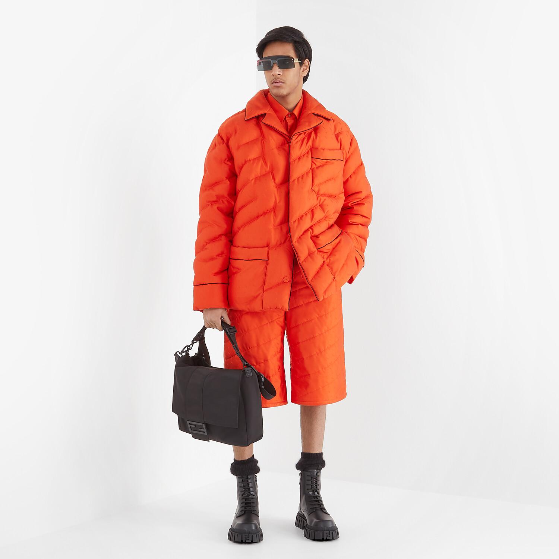 FENDI JACKET - Red silk jacket - view 5 detail