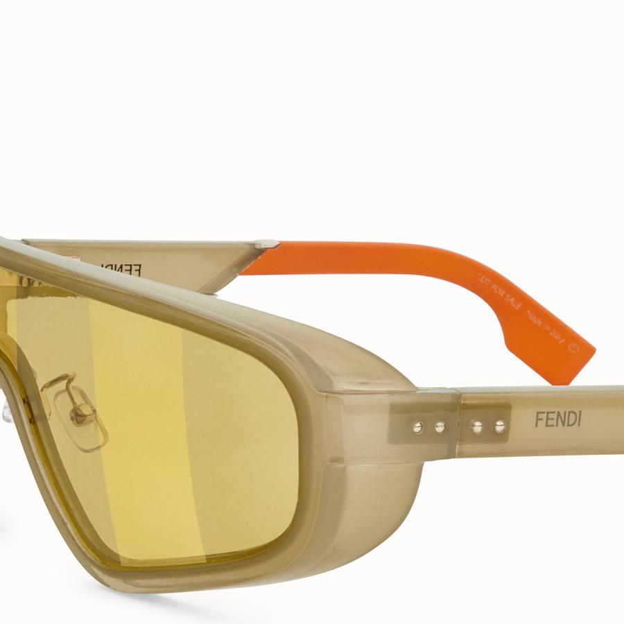 FENDI BOTANICAL FENDI - SS20 Fashion Show green sunglasses - view 3 detail