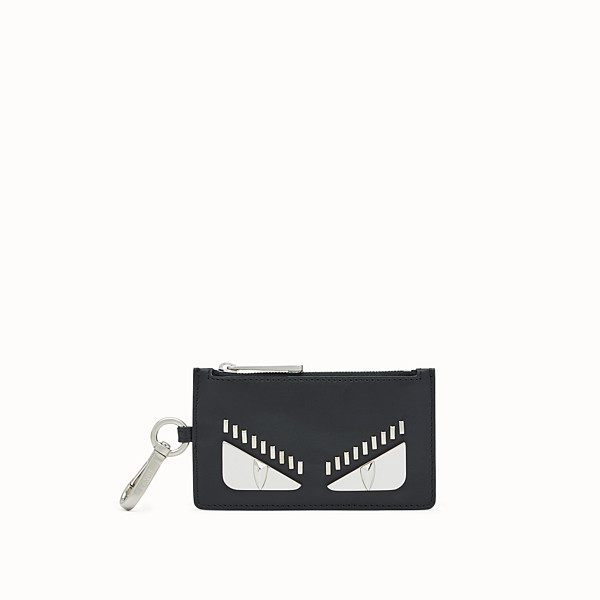 FENDI KEYRING - Black leather case - view 1 small thumbnail