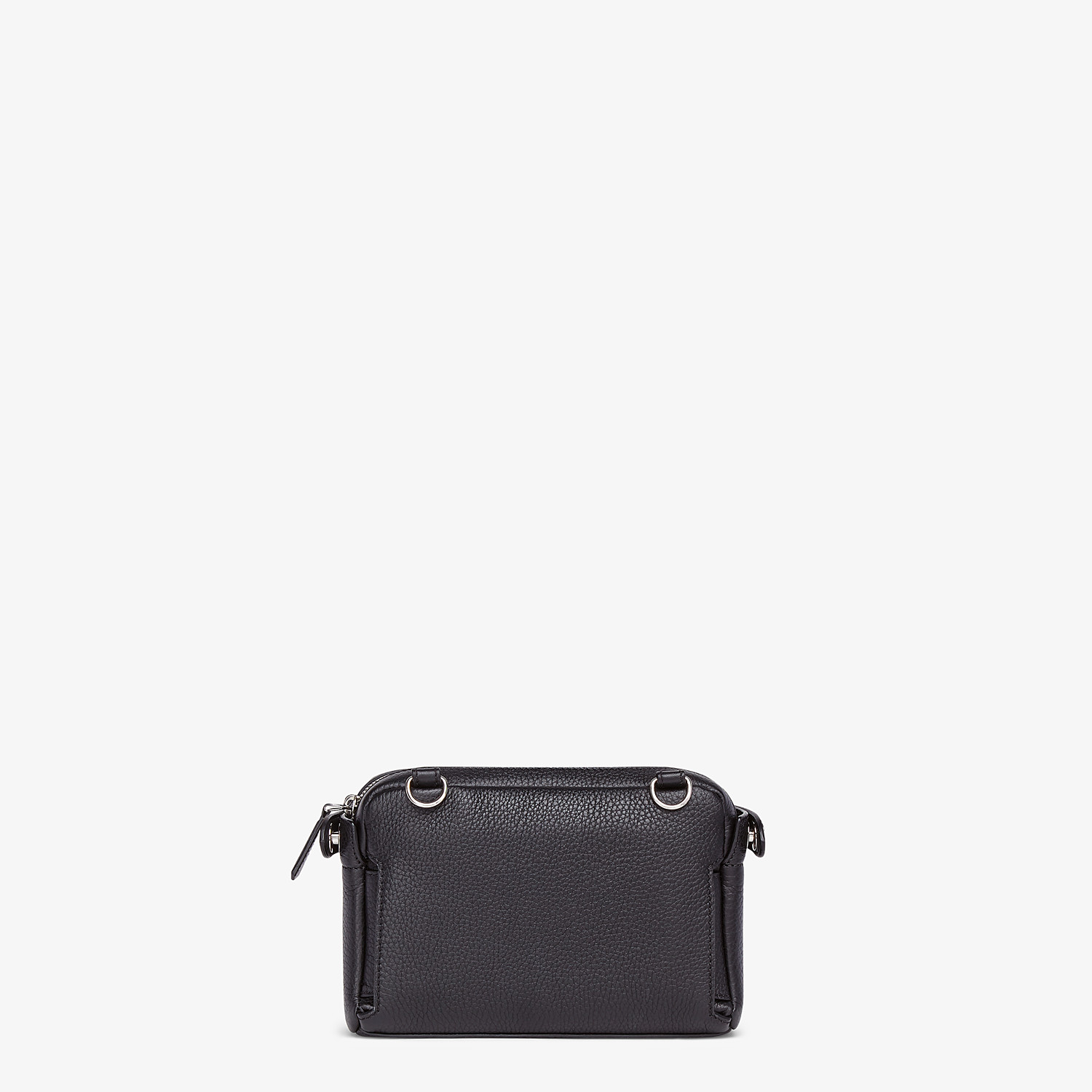 FENDI BELT BAG - Black leather belt bag - view 5 detail