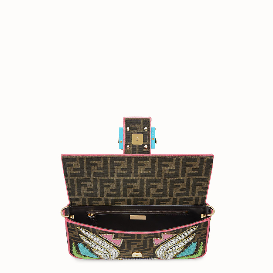 FENDI BAGUETTE - Multicolour fabric bag - view 4 detail