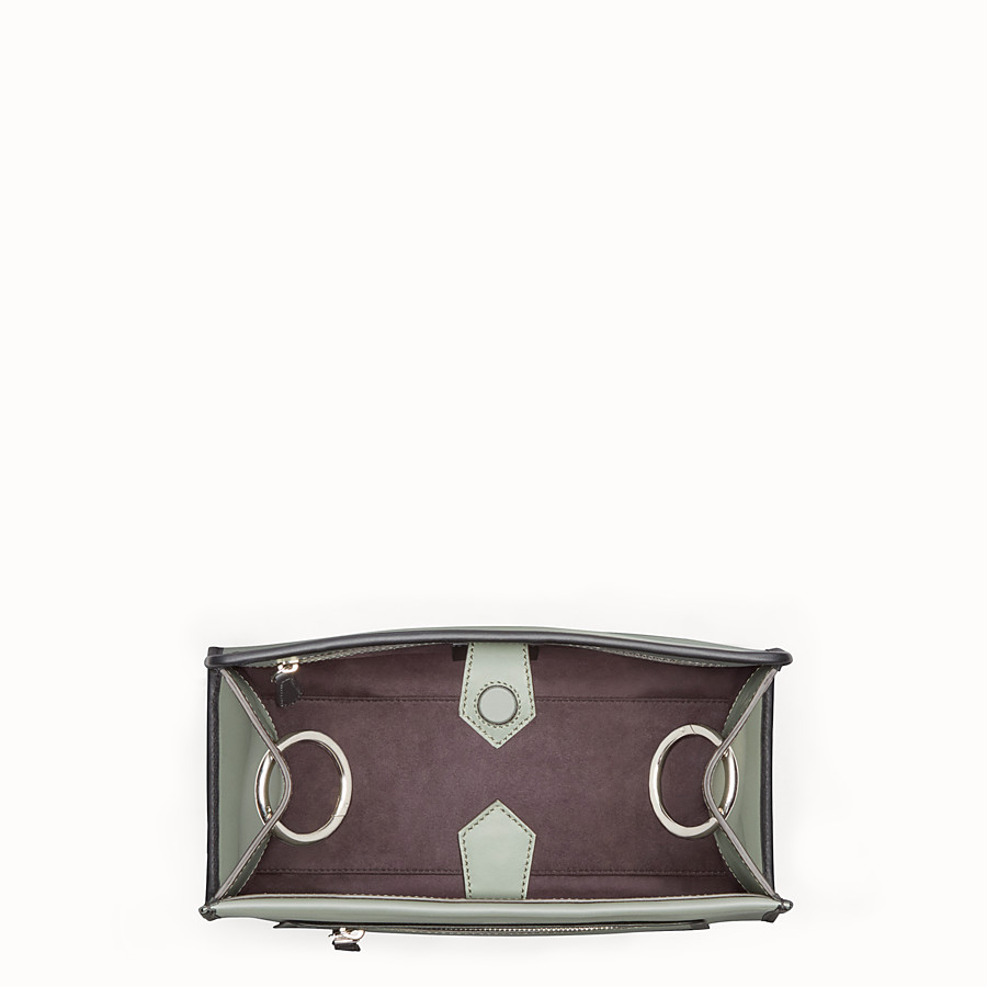 FENDI RUNAWAY SMALL - Green leather bag - view 4 detail