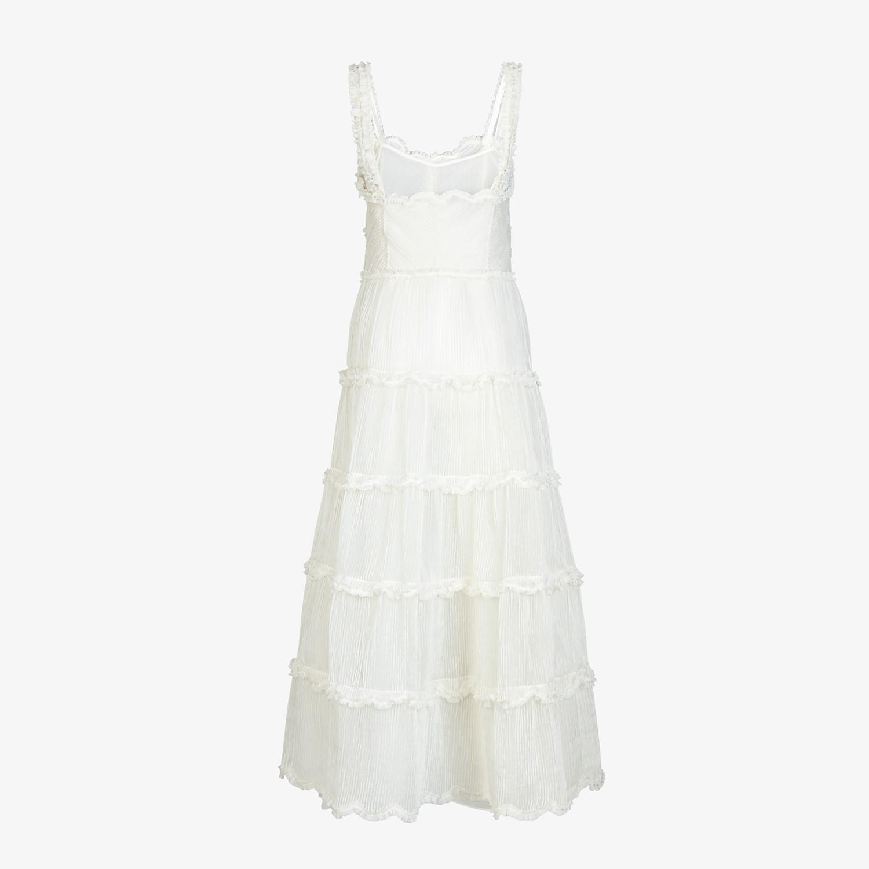 FENDI DRESS - White silk dress - view 2 detail