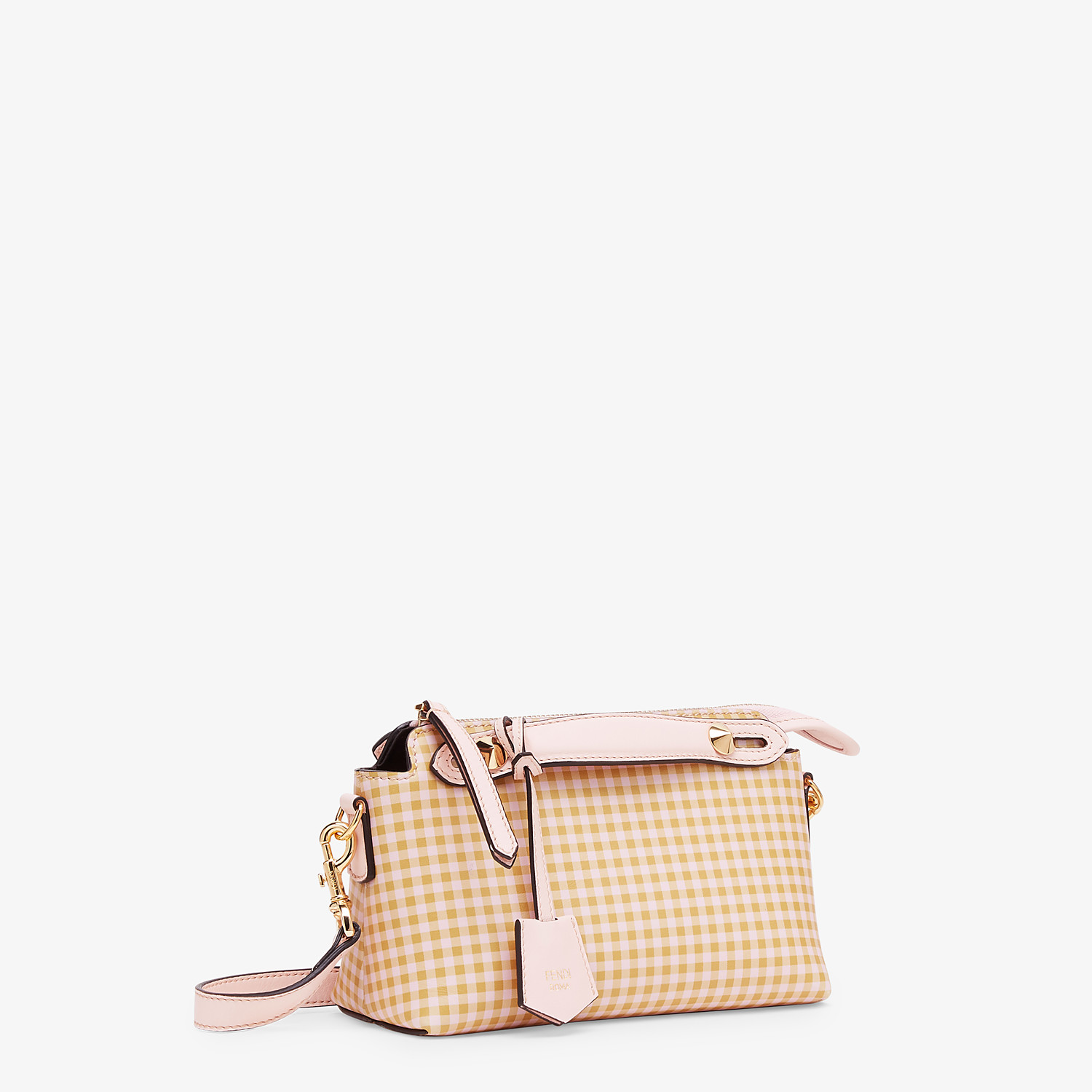 FENDI BY THE WAY MINI - Pink leather small Boston bag - view 2 detail