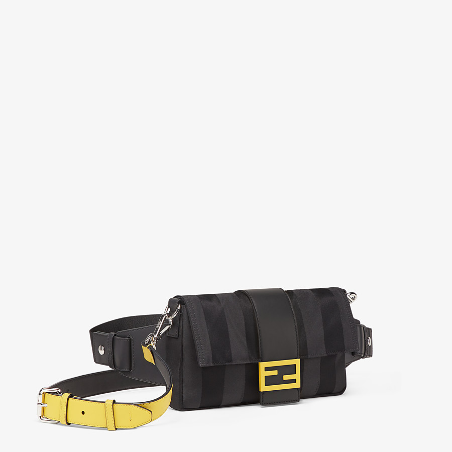 FENDI BAGUETTE - Black nylon bag - view 2 detail