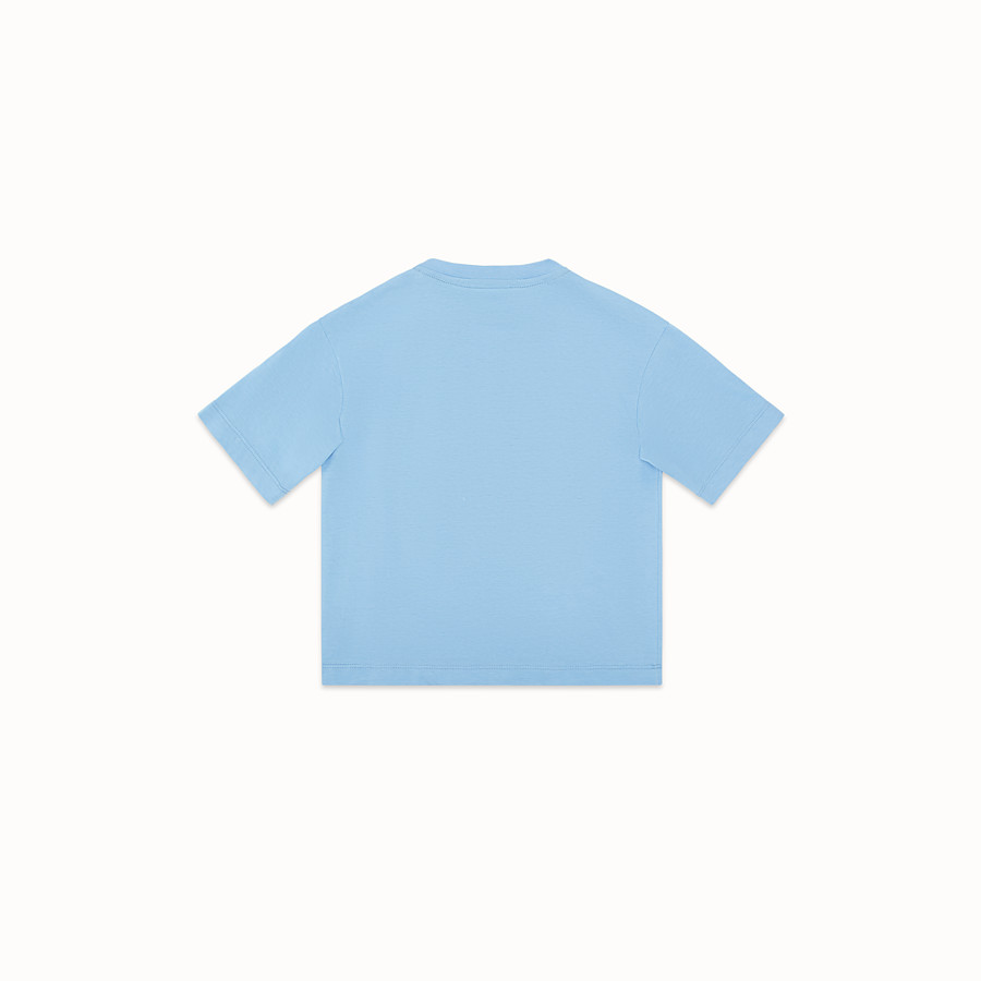 FENDI T-SHIRT - Ceramic colour jersey T-shirt - view 2 detail