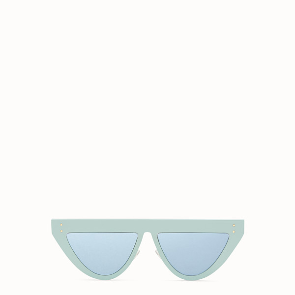 FENDI DEFENDER - Aquamarine sunglasses - view 1 small thumbnail