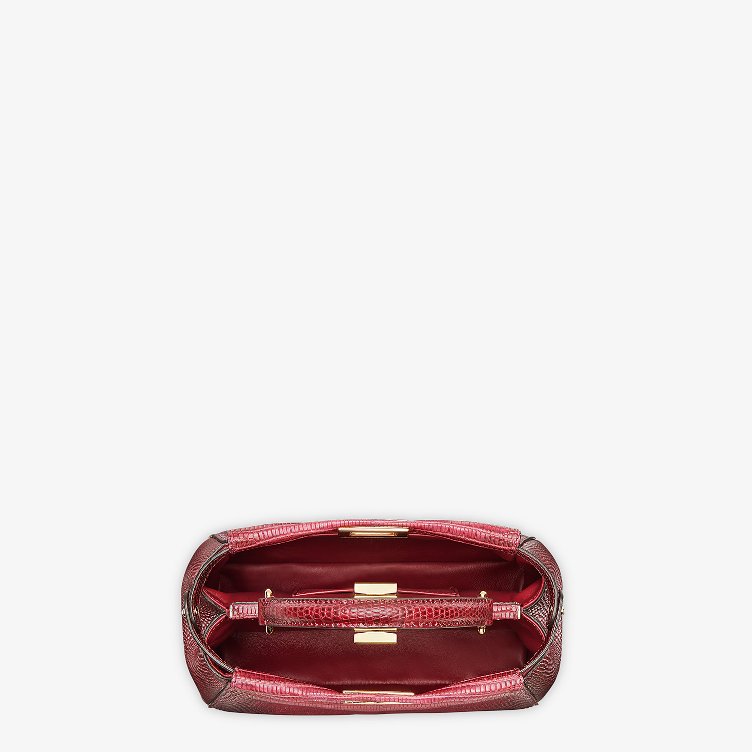 FENDI PEEKABOO ICONIC MINI - Lizard skin bag - view 4 detail