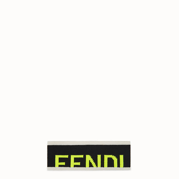 FENDI BAND - Black wool band - view 1 small thumbnail