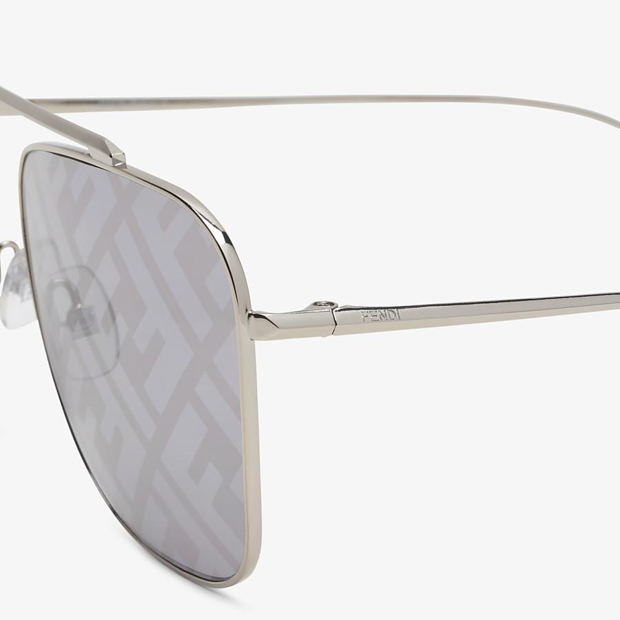 FENDI FF FAMILY - Metal sunglasses with FF logo - view 3 detail