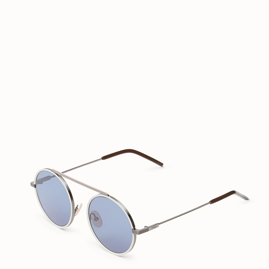 FENDI EVERYDAY FENDI - Ruthenium sunglasses - view 2 detail