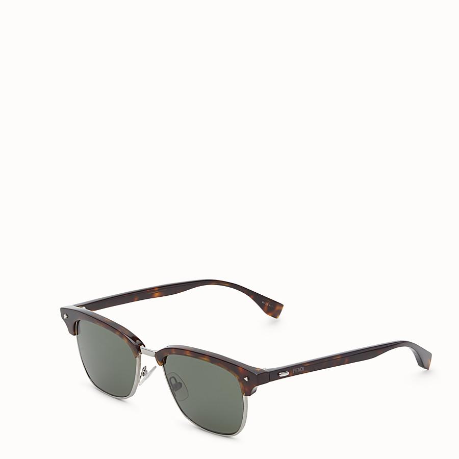 FENDI FENDI SUN FUN - Havana sunglasses - view 2 detail