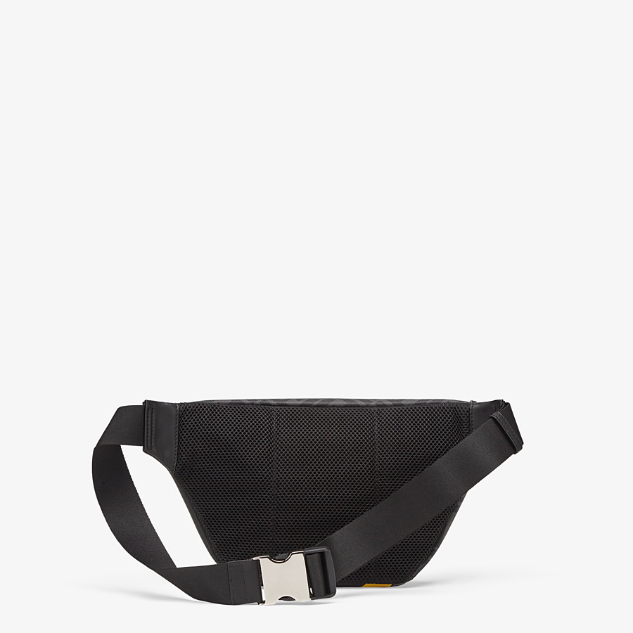FENDI BELT BAG - Gray fabric belt bag - view 3 detail