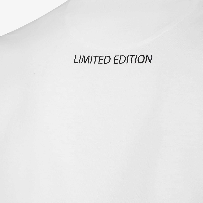 FENDI T-SHIRT - Karl Lagerfeld Limited Edition T-shirt - view 4 detail