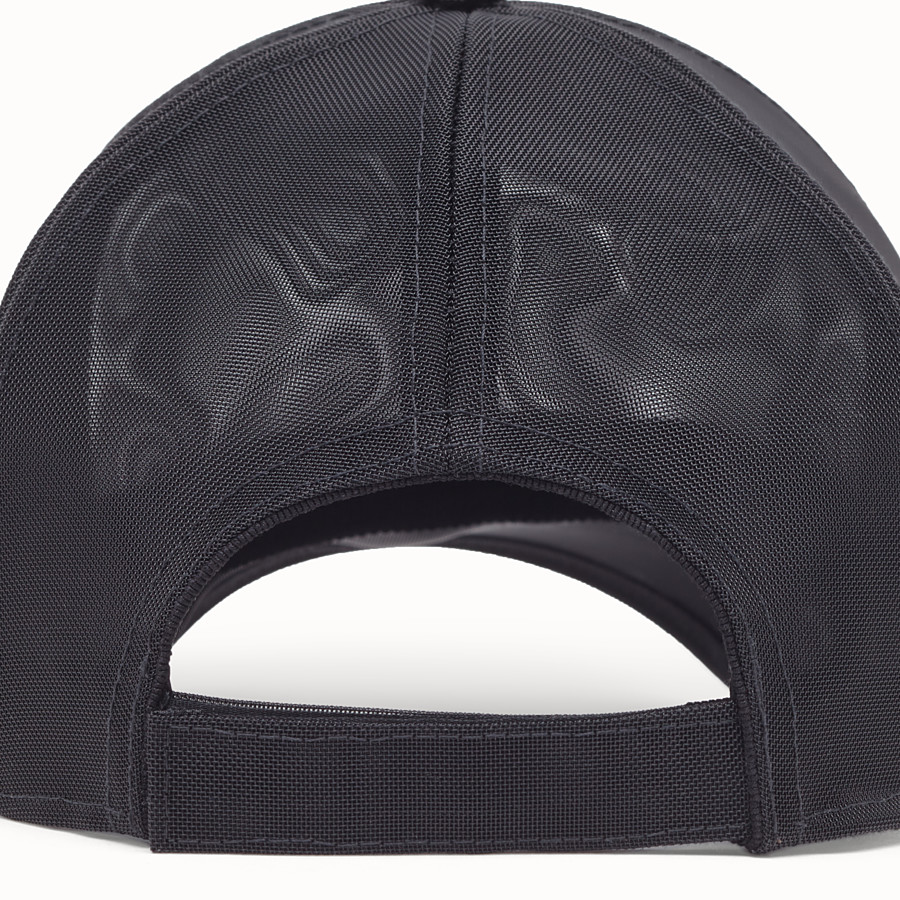 FENDI HAT - Black mesh baseball cap - view 2 detail