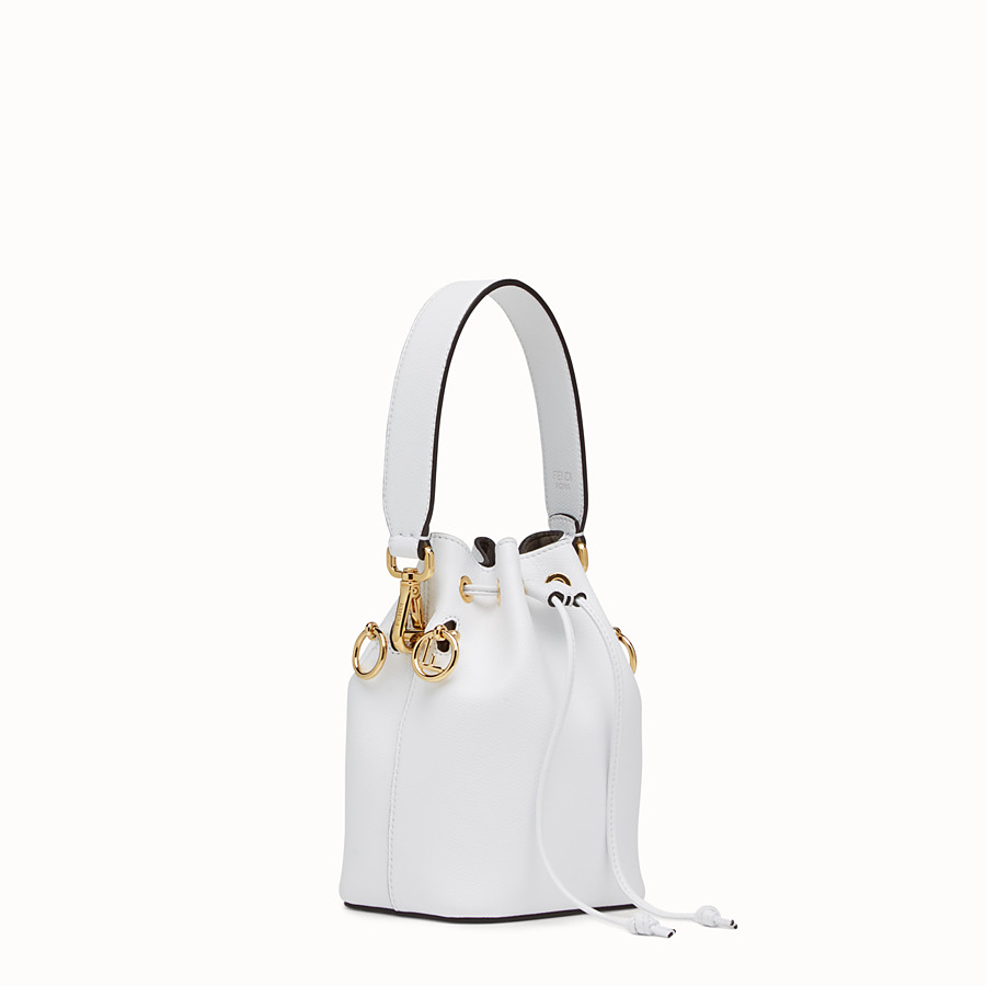 FENDI MON TRESOR - White leather mini-bag - view 2 detail