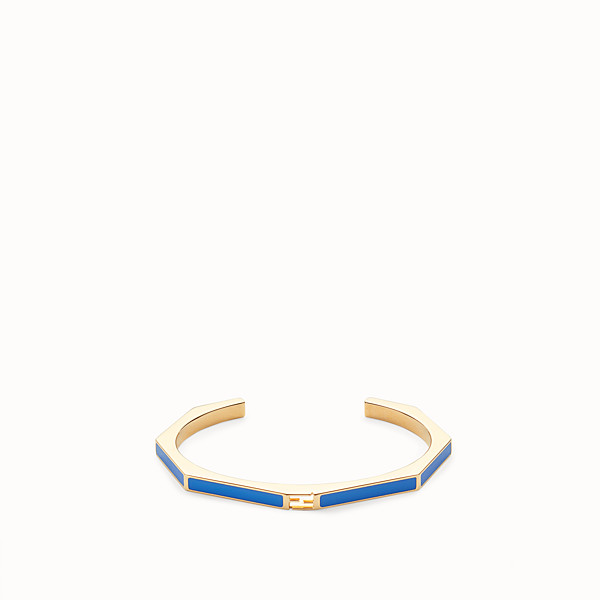 FENDI BAGUETTE BRACELET - Polished blue bracelet - view 1 small thumbnail