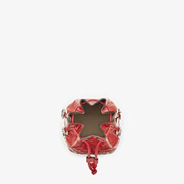 FENDI MON TRESOR - Red leather mini-bag - view 5 thumbnail