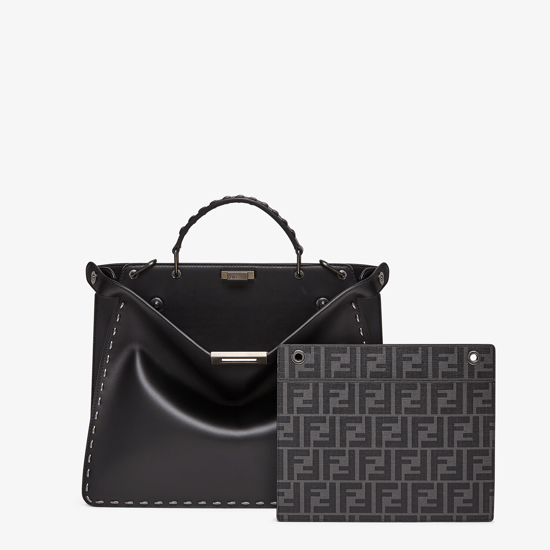 FENDI PEEKABOO ISEEU MEDIUM - Black leather bag - view 2 detail