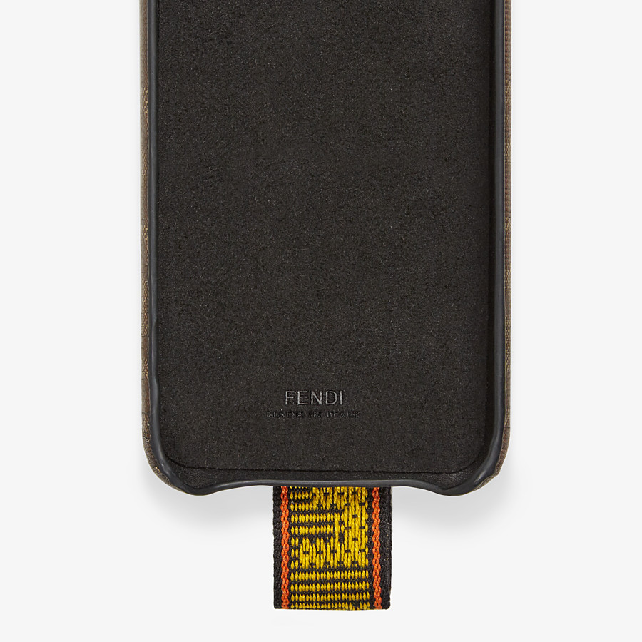 FENDI SMARTPHONE CASE - Brown fabric case - view 2 detail