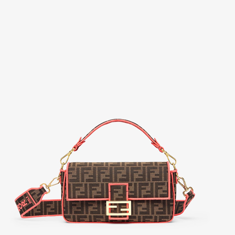FENDI BAGUETTE - Fendi Roma Amor fabric bag - view 1 detail