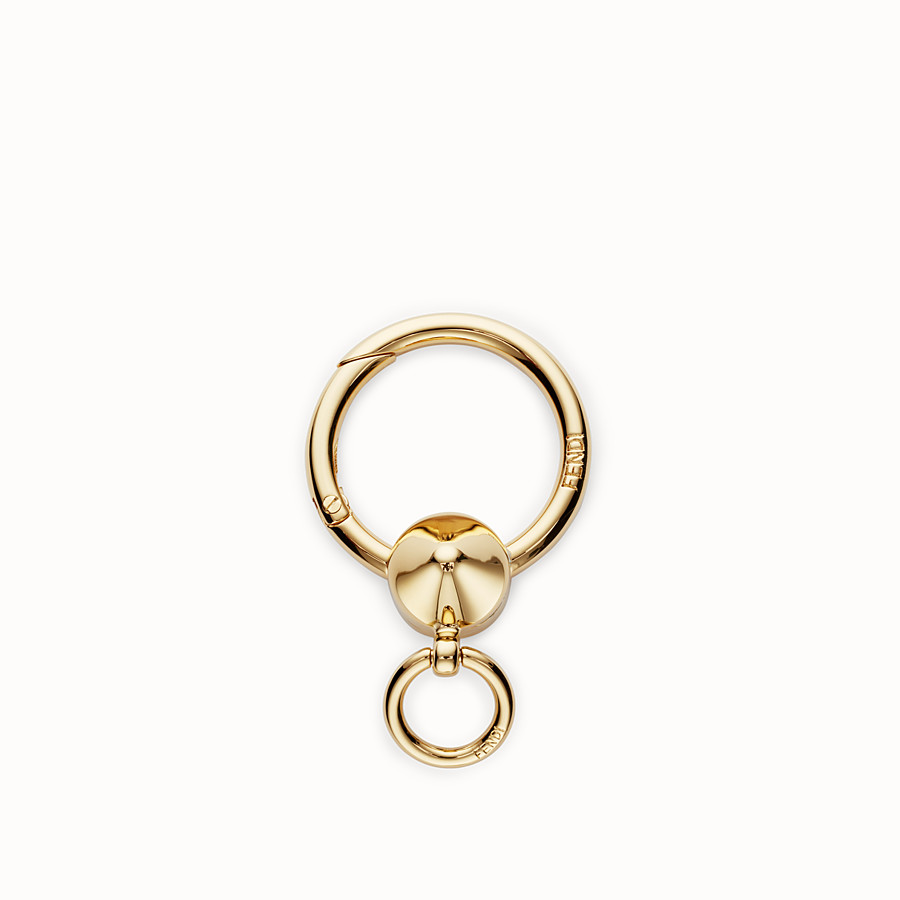 FENDI SPRING CLIP - Gold metal spring clip - view 1 detail