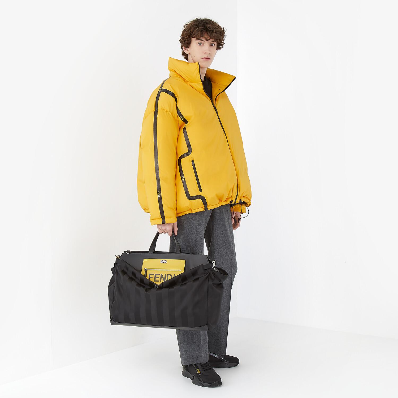 FENDI DOWN JACKET - Yellow tech fabric jacket - view 4 detail