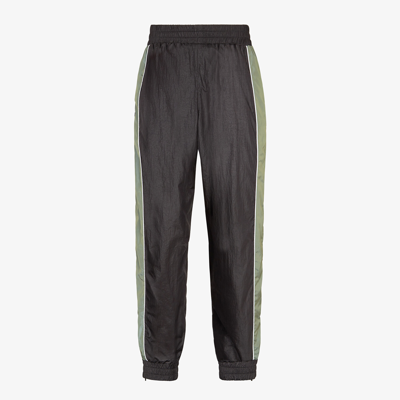 FENDI PANTS - Multicolor tech fabric pants - view 2 detail