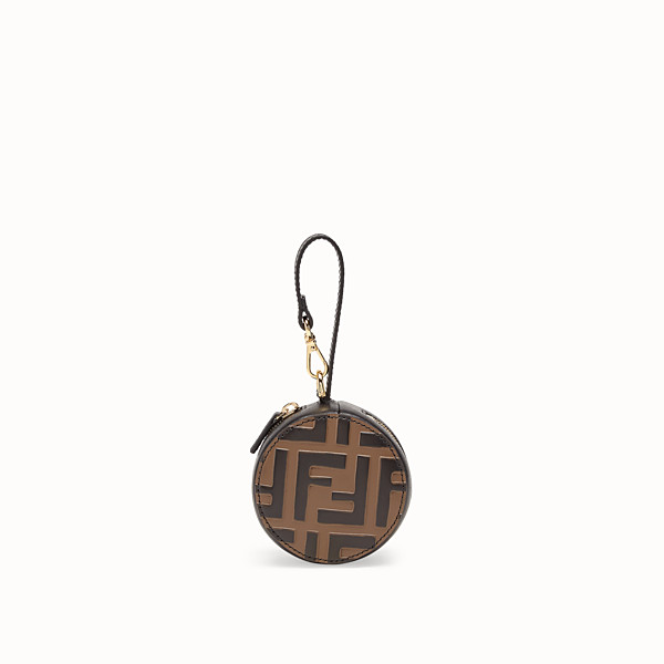 FENDI BACKPACK CHARM - Black leather charm - view 1 small thumbnail