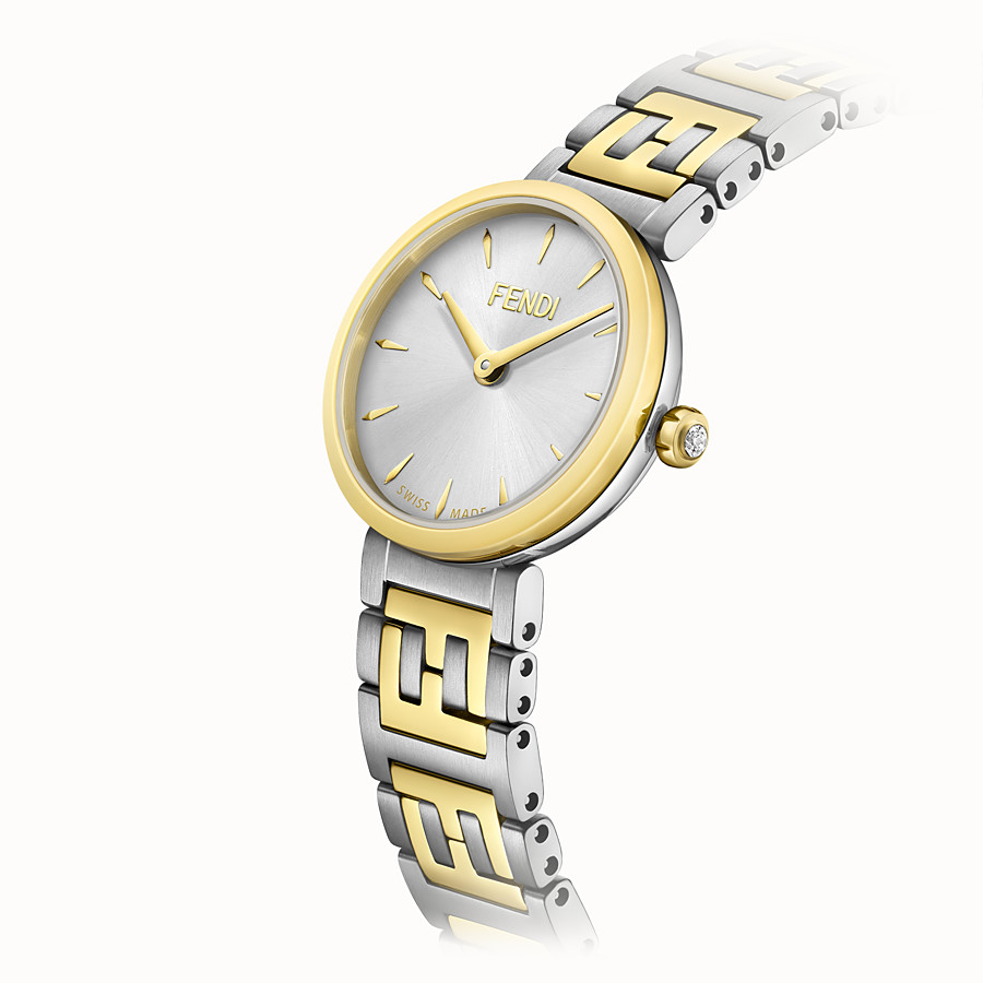 FENDI FOREVER FENDI - 19 MM - Watch with FF logo bracelet - view 3 detail