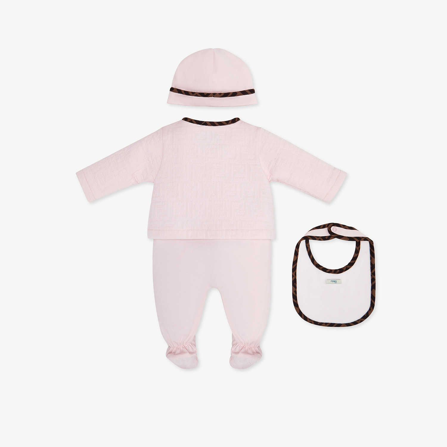 FENDI BABY KIT - Quilted cotton baby set - view 2 detail