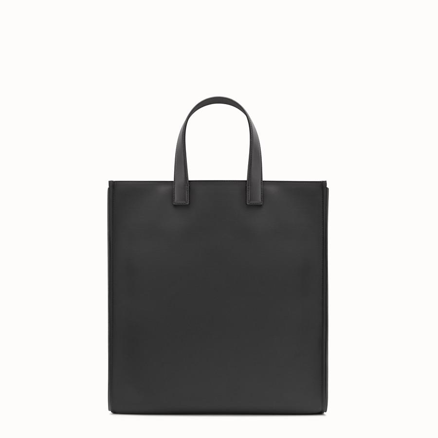 FENDI SAC CABAS - en nylon et en cuir noir - view 3 detail