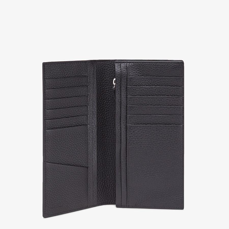 FENDI CONTINENTAL - Gray calfskin wallet - view 3 detail