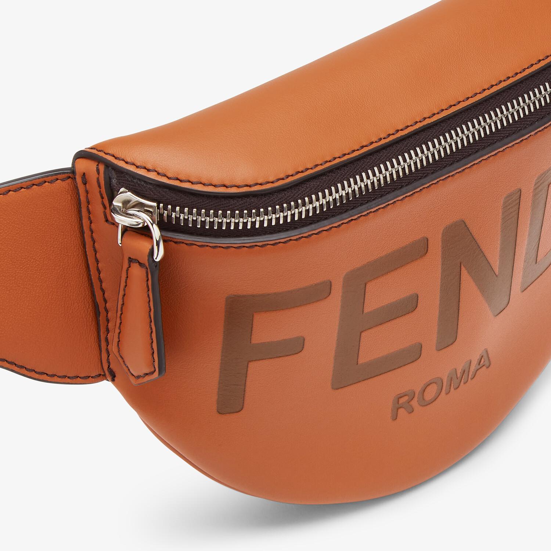 FENDI 腰包 - 棕色皮革腰包 - 查看 4 详情