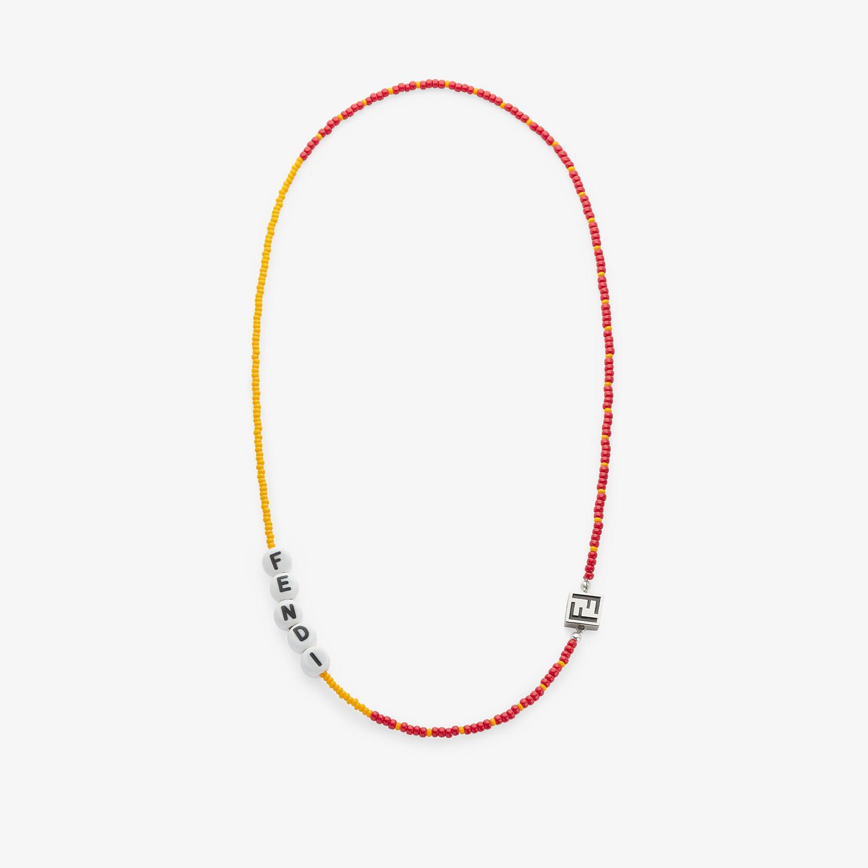 FENDI NECKLACE - Orange necklace - view 1 detail